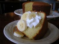 Banana Chiffon Cake picture