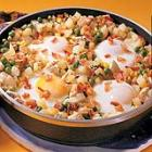chicken and egg hash picture