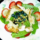 chicken berry salad picture