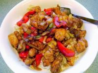 Chinese Chicken with Black Pepper Sauce picture