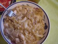 Chicken and Pasta in Wine Cheddar Sauce picture