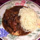 chicken marsala with portobello mushrooms picture