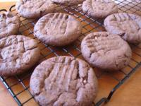 Chocolate Peanut Butter Cookies picture