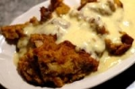 Pumpkin Bread Pudding with Cinnamon Sauce picture