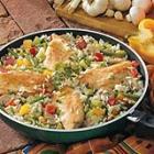 chicken rice skillet picture