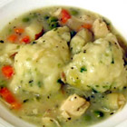 chicken stew with dumplings picture