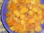 Glazed Rutabaga & Apricots picture