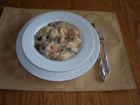 Seafood and Portabello Mushrooms picture