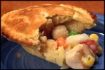 Deep-dish Chicken Pot Pie picture