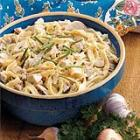 chicken with homemade noodles picture