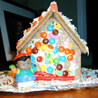 Children's Gingerbread House picture