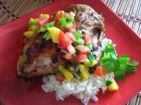 Jerk Chicken (BBQ'd) with Mango Salsa picture