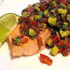 Chilled Salmon With Summer Tomato Salsa picture