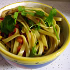 chinese cold pasta salad picture