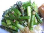 Sesame Asparagus picture