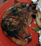 Grilled Pork Chops with Herb Rub picture