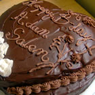 chocolate butter-creme frosting picture
