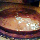 Chocolate Cake Boiling Icing picture