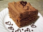 Burning Love Chocolate Cream Cake picture