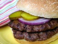 Grilled Venison Burgers picture
