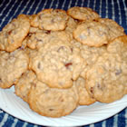 chocolate chip oatmeal cookies picture