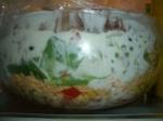 Layered Cornbread Salad picture