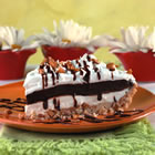 chocolate layered pie picture