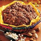 chocolate nut cookies picture