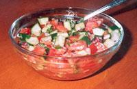 Tomato and Mint Salad (Shirazi) picture