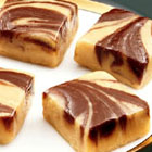 Chocolate Peanut Butter Swirl Fudge picture