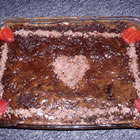 chocolate peanut butter wacky cake picture