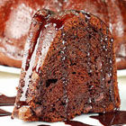 chocolate pudding fudge cake picture