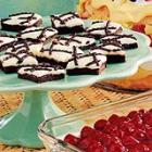 chocolate raspberry bars picture