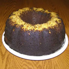 chocolate rum cake picture