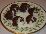 Chocolate Dipped Coconut Macaroons picture