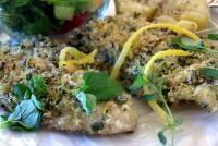 Cod Roasted with Fresh Herbs picture