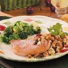 chops with fruit stuffing picture