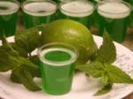 Mojito Jello Shots picture