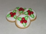 New Zealand Holly Cookies picture