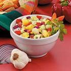 chunky cucumber salsa picture