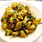 Cilantro and Garlic Potatoes picture