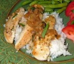 chicken breasts in tarragon sauce picture