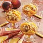 cinnamon peach crisp picture
