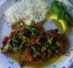 Cubano Chicken with Spicy Currant Picadillo picture