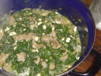 Lamb with Spinach picture