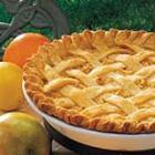 Citrus Apple Pie picture