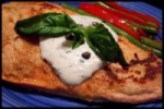 grilled salmon with horseradish sauce picture