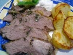 Grilled Butterflied Leg of Lamb with Lemon, Herbs and Garlic picture