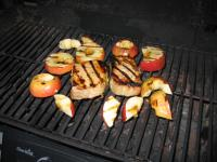Grilled Pork and Apples picture