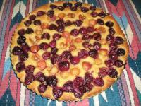 Sweet Cherry & Almond Tart picture